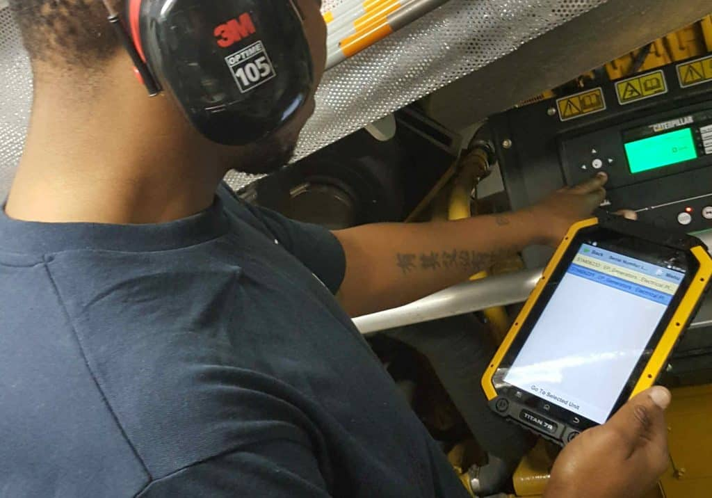 Maintenance Management using a mobile application for technicians